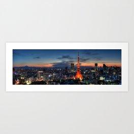 Tokyo 254 Art Print