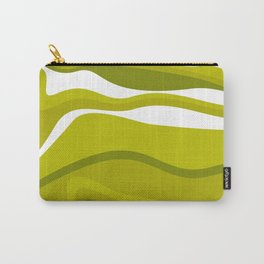 The Graphic Art Series #13: Green Pesto Carry-All Pouch