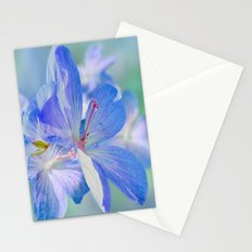 FLOWERS - Geranium endressii Stationery Cards