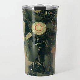 CyberCop - The Future of Law Enforcement - Robot Police - Sci-Fi Artwork Travel Mug