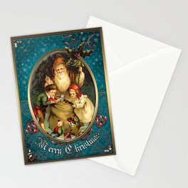 Christmas Vintage 021 Stationery Cards