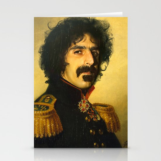 Frank Zappa - replaceface Stationery Cards