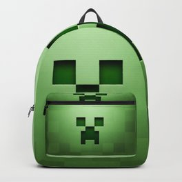 Mine craft face Backpack