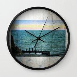 Beach Road Happisburgh Norfolk Wall Clock