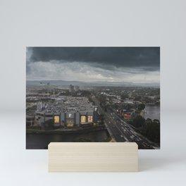Stormy Weather At Broadbeach Mini Art Print