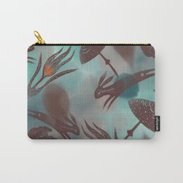 Hares of Avalon Carry-All Pouch