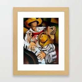 Guajiros rumba Framed Art Print