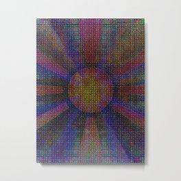 Surya Invocation (Sun) - Magick Square Yantra Tantra Metal Print