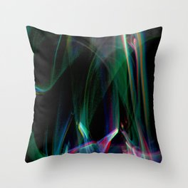 Cover Up with Lights Throw Pillow