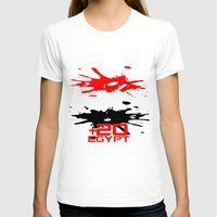 egypt T-shirts featuring Egypt Code by Maxvtis