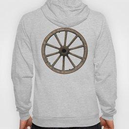 Old waggon wheel Hoody