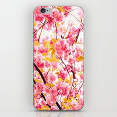 Power of Flower iPhone & iPod Skin