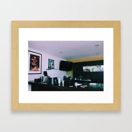 Sunset Strip x Kurt x Tina Framed Art Print