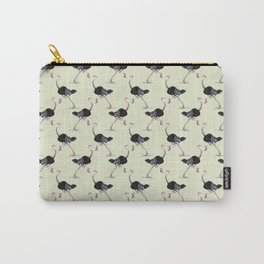 ostrich in high heels Carry-All Pouch