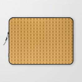 Retro Orange Squares Laptop Sleeve