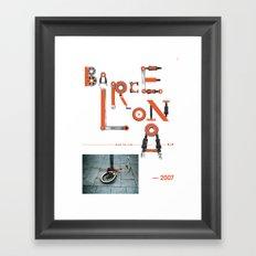 Bike to Life - Barcelona Framed Art Print