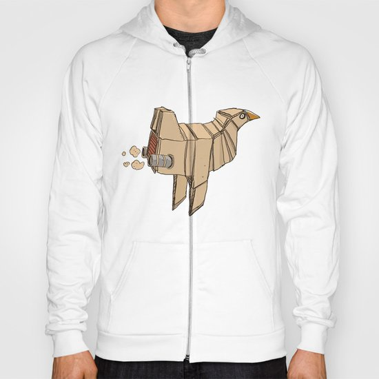 Space Chicken Hoody