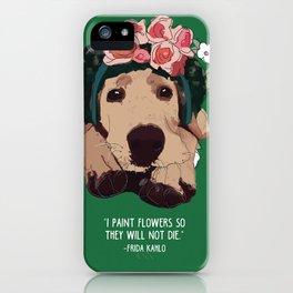 Frida-brador Labrador dog iPhone Case