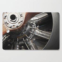 Airplane motor Cutting Board