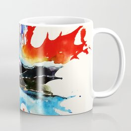 Vintage Canada Maple Leaf Travel Love Watercolor Coffee Mug