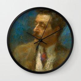 Giacomo Puccini (1858 – 1924) by Arturo Rietti in 1906 Wall Clock