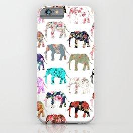 Floral Herd iPhone Case