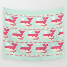 Triangwhales Wall Tapestry