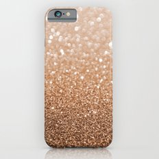 Copper Shiny Powder Texure iPhone 6 Slim Case