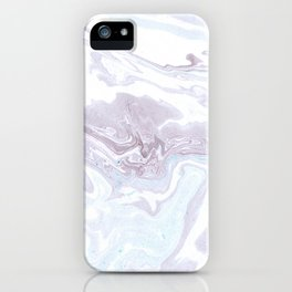 Faded Marbling iPhone Case