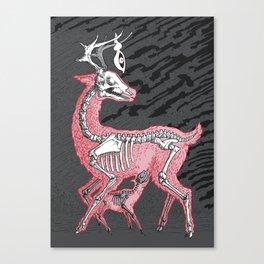 Inner deer vol1 Canvas Print
