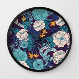 Jungle Pattern 003 Wall Clock