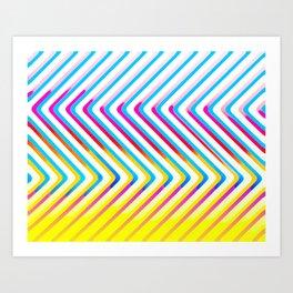 Pop Optical Art Art Print