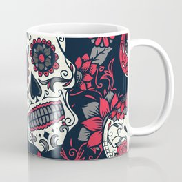 Red Sugar Skulls Coffee Mug