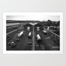 Steel Co. Art Print