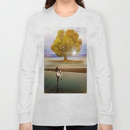 Tree of Surf Life Long Sleeve T-shirt