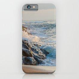 wavy iPhone Case