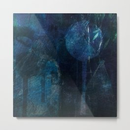 blue night Metal Print