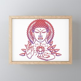 Buda RoVi Framed Mini Art Print