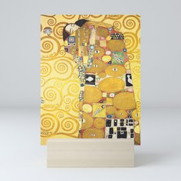 Gustav Klimt - The Embrace - Die Umarmung - Vienna Secession Painting Mini Art Print