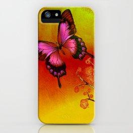 le papillon Japonais  iPhone Case