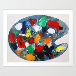 The Artist's Palette Art Print