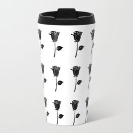 Black Roses 01 Travel Mug