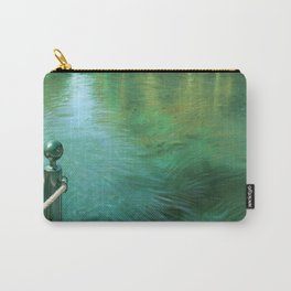 Waterscape digital painting Carry-All Pouch