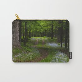 Forget-me-not Trail Carry-All Pouch