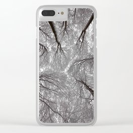 synapses of ice Clear iPhone Case