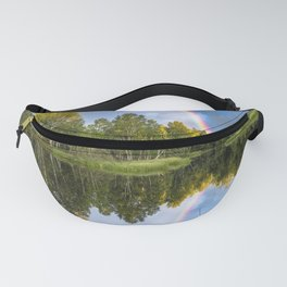 Rainbows: The gift from heaven to us all Fanny Pack