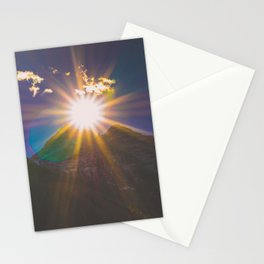 Sunset at Maroon Bells Stationery Cards
