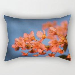 Floral Flash Rectangular Pillow