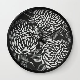 Waratahs Wall Clock
