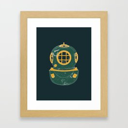 Diving Bell Framed Art Print